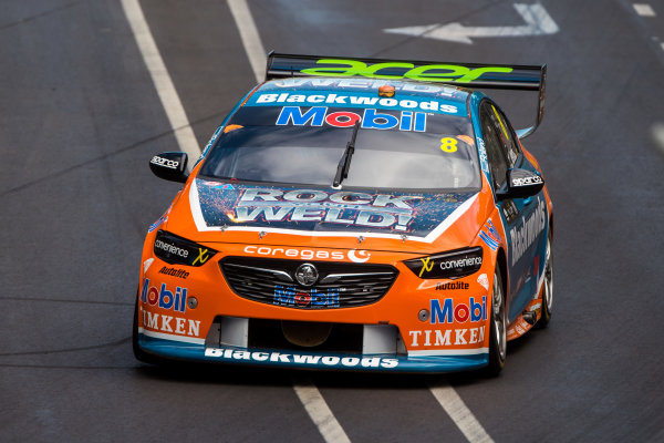 2018 Supercars Championship Adelaide 500, Adelaide, South Australia, Australia Friday 2 March 2018  #8 Nick Percat (Aust) Blackwoods Racing  World Copyright: Dirk Klynsmith / LAT Images ref: Digital Image 2018VASC01-03352