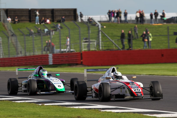 2017 MSA British F4 Championship, Silverstone, Northants, UK. 16th-17th September 2017 Jordan Dyson JHR World copyright. JEP/LAT Images