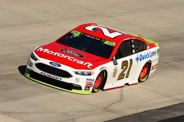 Monster Energy NASCAR Cup Series Apache Warrior 400 Dover International Speedway, Dover, DE USA Friday 29 September 2017 Ryan Blaney, Wood Brothers Racing, Motorcraft/Quick Lane Tire & Auto Center Ford Fusion World Copyright: John K Harrelson LAT Images