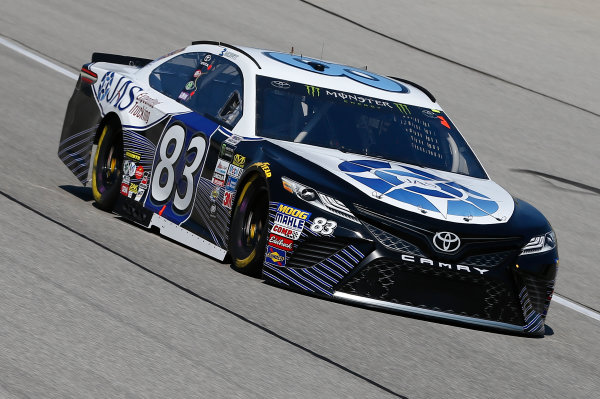 Monster Energy NASCAR Cup Series Tales of the Turtles 400 Chicagoland Speedway, Joliet, IL USA Friday 15 September 2017 Brett Moffitt, BK Racing, JAS Expedited Trucking Toyota Camry World Copyright: Brett Moist LAT Images