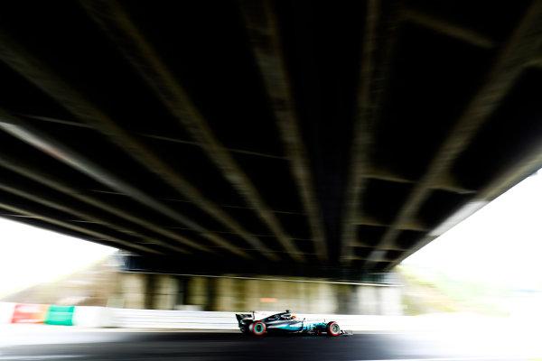 Suzuka Circuit, Japan. Saturday 07 October 2017. Lewis Hamilton, Mercedes F1 W08 EQ Power+. World Copyright: Steven Tee/LAT Images  ref: Digital Image _O3I7127
