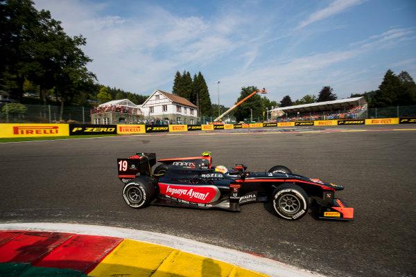 2017 FIA Formula 2 Round 8. Spa-Francorchamps, Spa, Belgium. Sunday 27 August 2017. Roberto Merhi (ESP, Rapax).  Photo: Zak Mauger/FIA Formula 2. ref: Digital Image _54I3083
