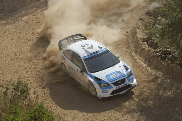 Round 8Rally of Turkey 200812th-15th June 2008Barry Clark, Ford, actionWorldwide copyright: McKlein / LAT