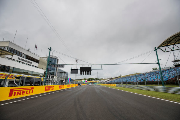 2017 GP3 Series Round 4.  Hungaroring, Budapest, Hungary. Thursday 27 July 2017. A view of the circuit. Photo: Zak Mauger/GP3 Series Media Service. ref: Digital Image _56I0057