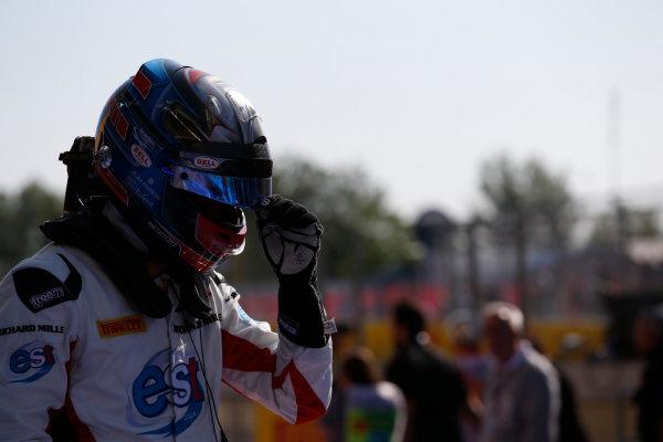 2016 GP3 Series Round 1 Circuit de Catalunya, Barcelona, Spain. Sunday 15 May 2016. Alexander Albon (THA, ART Grand Prix)  Photo: Sam Bloxham/GP3 Series Media Service. ref: Digital Image _R6T9388