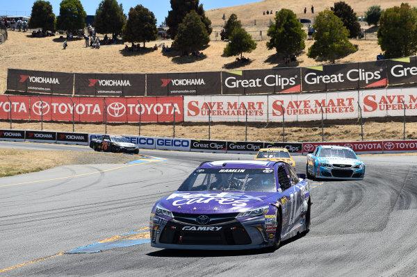 24-26 June, 2016, Sonoma, California USA Denny Hamlin, FedEx Cares Toyota Camry (11) ?2016, John Harrelson / LAT Photo USA
