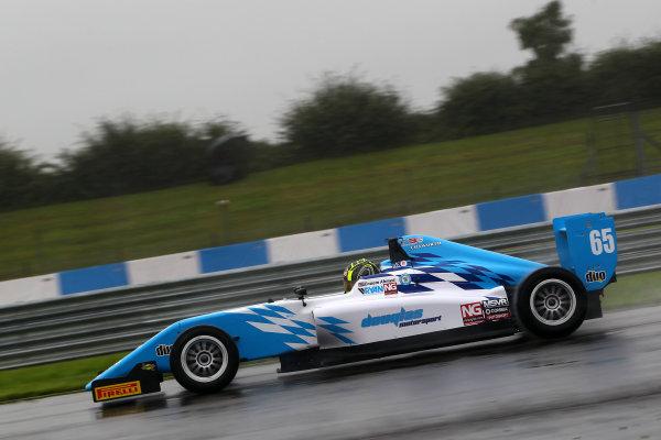 2016 BRDC F3 Championship, Donington Park, Leicestershire. 10th - 11th September 2016. Enaam Ahmed (GBR) Douglas Motorsport BRDC F3. World Copyright: Ebrey / LAT Photographic.