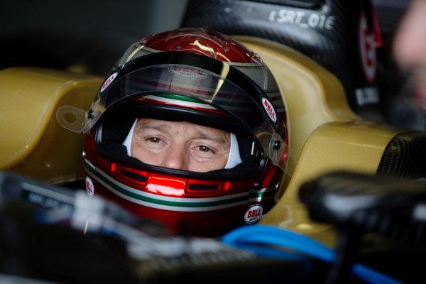 FIA Formula E Test Day, Donington Park, UK.  3rd - 4th July 2014.  Jarno Trulli, Trulli GP. Photo: Malcolm Griffiths/FIA Formula E ref: Digital Image A50A2921