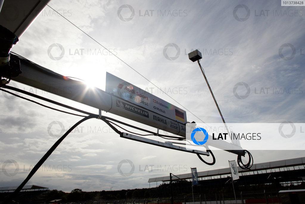 Silverstone, England. 24th - 26th August 2012. Rd 4.Tom Kristensen (DNK), Allan McNish (GBR), Audi Sport Team Joest, Audi R18 Ultra, detail, technical, World Copyright: Chris Bird/LAT Photographic.Ref:  _A1A0778