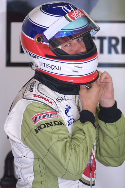 2001 Spanish Grand PrixCatalunya, Barcelona, Spain. 27-29 April 2001.Olivier Panis (B.A R. Honda) 7th position.World Copyright - LAT Photographicref: 8 9 MB Digital File