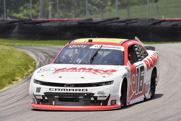#16: A.J. Allmendinger, Kaulig Racing, Chevrolet Camaro RAMCO Specialties Inc