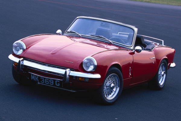 Triumph Spitfire Mark 3, 1969. Egelsbach, Germany.