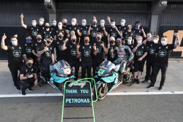Fabio Quartararo, Petronas Yamaha SRT Franco Morbidelli, Petronas Yamaha SRT.