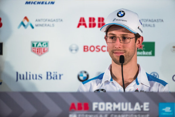Alexander Sims (GBR) BMW I Andretti Motorsports in the press conference