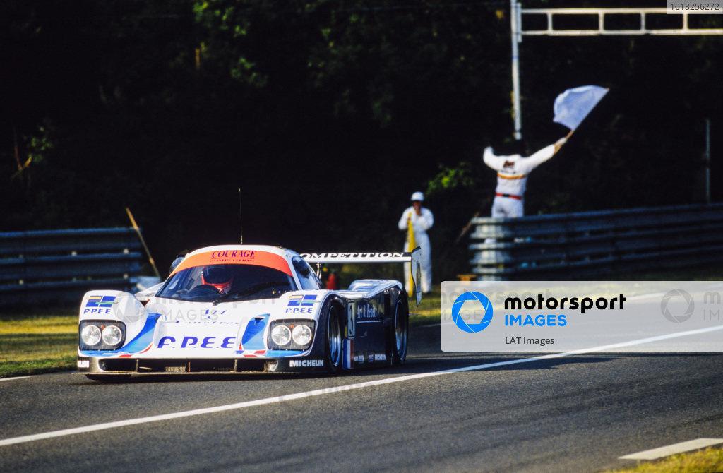 Lionel Robert / Pascal Fabre / Pierre-Henri Raphanel, Courage Compétition, Courage C32LM Porsche.