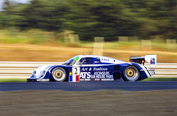 Henri Pescarolo / Alain Ferté / Franck Lagorce, Courage Compétition, Courage C32LM Porsche.