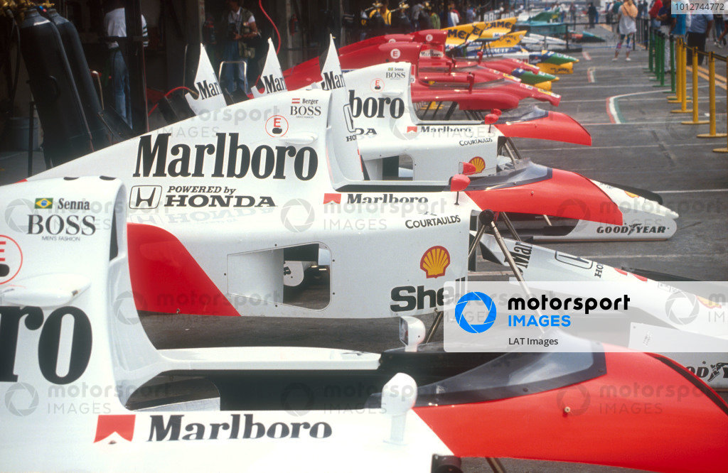 1991 Mexican Grand Prix.