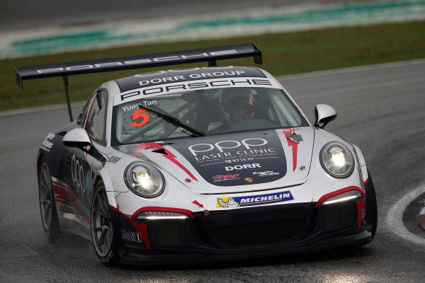 Yuey Tan (SIN) Dorr Havelock Racing. Porsche Carrera Cup Asia, Sepang, Malaysia, 28-30 March 2014.