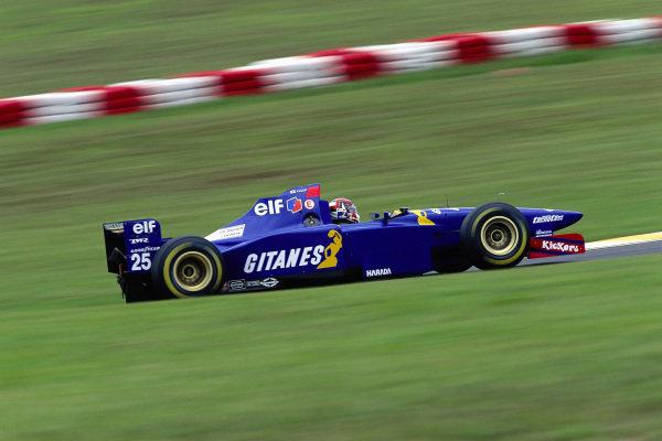 Aguri Suzuki, Ligier JS41 Mugen-Honda.