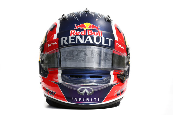 Albert Park, Melbourne, Australia. Helmet of Daniil Kvyat, Red Bull Racing.  Thursday 12 March 2015. World Copyright: LAT Photographic. ref: Digital Image 2015_Helmet_041