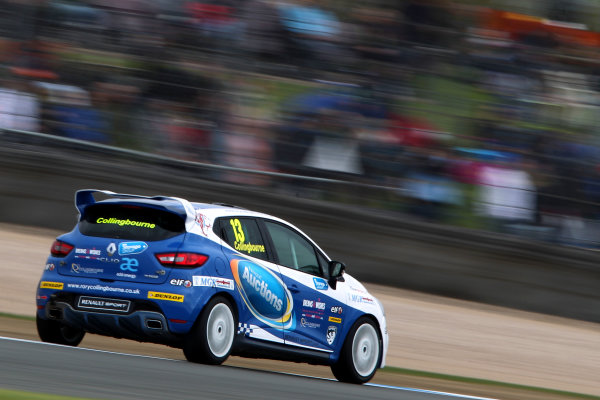 2015 Renault Clio Cup, Donington Park, 18th - 19th April 2015 Rory Collingbourne (GBR) Cooksport Renault Clio Cup  World copyright. Jakob Ebrey/LAT Photographic