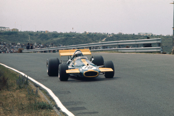 1970 Dutch Grand Prix.Zandvoort, Holland.19-21 June 1970.Jack Brabham (Brabham BT33 Ford).Ref-70 HOL 33.World Copyright - LAT Photographic