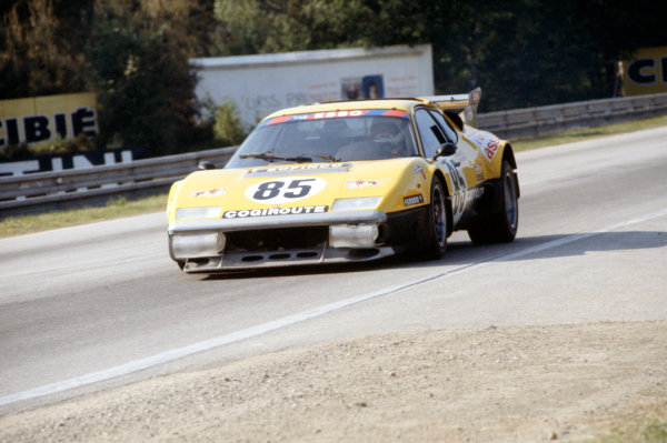 "1978 Le Mans 24 HoursLe Mans, France. 10th - 11th June.Teddy Pilette/Nick Faure/""Beurlys"" (Ferrari 512BB), retired.World Copyright: Murenbeeld/LAT Photographicref: 35mm Transparency Image"
