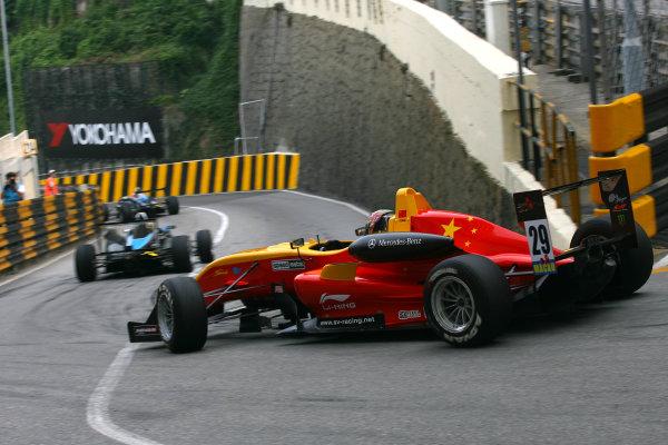 Circuit de Guia, Macau. 18th - 21st November 2010.Adderly Fong (HKG) Sino Vision Racing Dallara Mercedes.World Copyright: Ebrey/LAT Photographic.