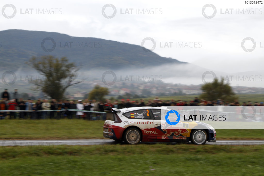 Round 11Rally de France 30/9-3/10Dani Sordo, Citroen WRC, Action.Worldwide Copyright: McKlein/LAT