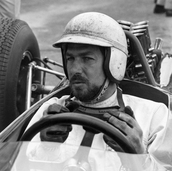 1962 Formula One World Championship. Jo Bonnier, portrait. World Copyright: LAT Photographic ref: 50mb Scan (19895)