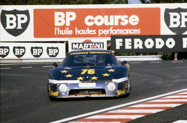 Le Mans, France. 14th - 15th June 1980.Jean Xhenceval/Herve Regout/Pierre Dieudonne (Ferrari 512 BB), 10th position, action. World Copyright: LAT Photographic.