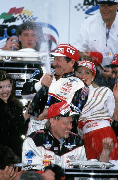 Dale Earnhardt Sr.Daytona 500 Winner, 1998, Victory Lane©2011, Nigel KinradeLAT Photo USA