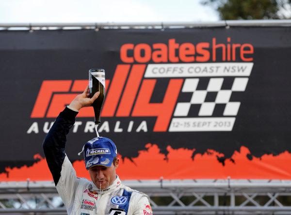 2013 FIA World Rally Championship Round 10, Rally Australia, 12th-15th September 2013. Sebastian Ogier, Volkswagen. Worldwide Copyright: McKlein/LAT