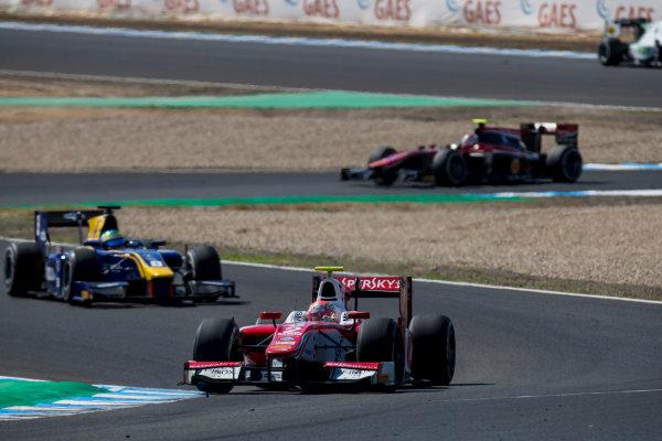 2017 FIA Formula 2 Round 10. Circuito de Jerez, Jerez, Spain. Sunday 8 October 2017. Antonio Fuoco (ITA, PREMA Racing).  Photo: Zak Mauger/FIA Formula 2. ref: Digital Image _56I7792