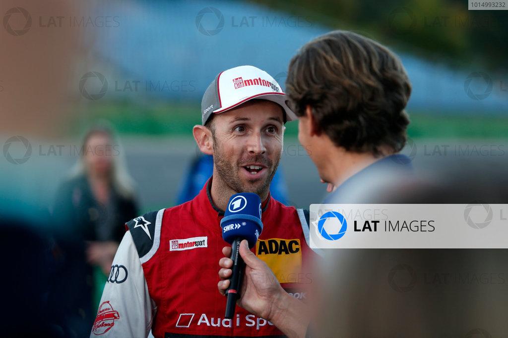 2017 DTM Round 9  Hockenheimring, Germany  Sunday 15 October 2017. René Rast, Audi Sport Team Rosberg, Audi RS 5 DTM  World Copyright: Alexander Trienitz/LAT Images ref: Digital Image 2017-DTM-HH2-AT2-2350