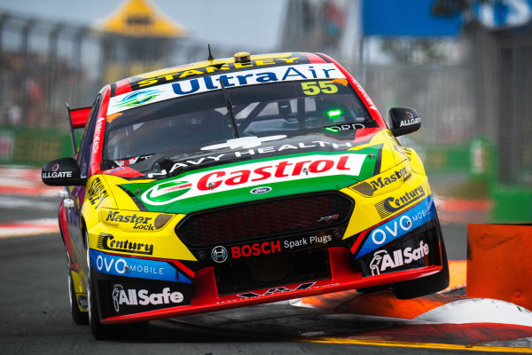 2017 Supercars Championship Round 12.  Gold Coast 600, Surfers Paradise, Queensland, Australia. Friday 20th October to Sunday 22nd October 2017. Chaz Mostert, Rod Nash Racing Ford.  World Copyright: Daniel Kalisz/LAT Images Ref: Digital Image 201017_VASCR12_DKIMG_0412.jpg