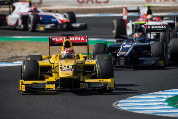 2017 FIA Formula 2 Round 10. Circuito de Jerez, Jerez, Spain. Saturday 7 October 2017. Norman Nato (FRA, Pertamina Arden).  Photo: Andrew Ferraro/FIA Formula 2. ref: Digital Image _FER1715