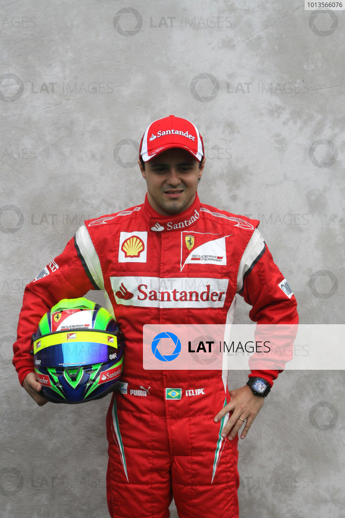 Albert Park, Melbourne, Australia24th March 2011.Felipe Massa, Ferrari F150Â¡ Italia. Portrait. World Copyright: LAT Photographicref: Digital Image1_LC2852