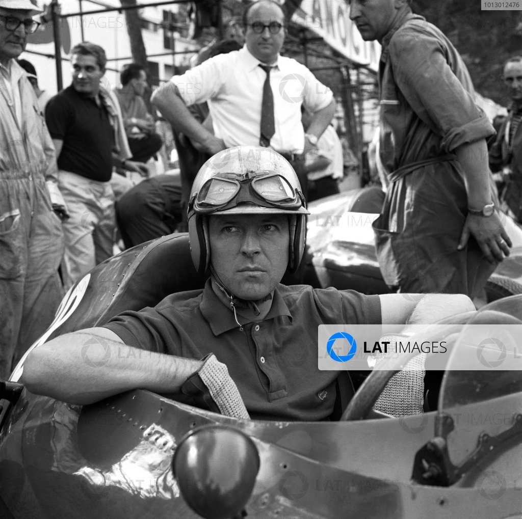 Formula 1 World Championship. Wolfgang von Trips, portrait. World - LAT Photographic