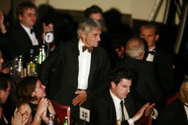 2006 Autosport AwardsGrosvenor House Hotel, London. 3rd December 2006.Michelin's Pierre Dupasquier heads for the stage.World Copyright: Malcolm Griffiths/LAT Photographicref: Digital Image _MG_2414