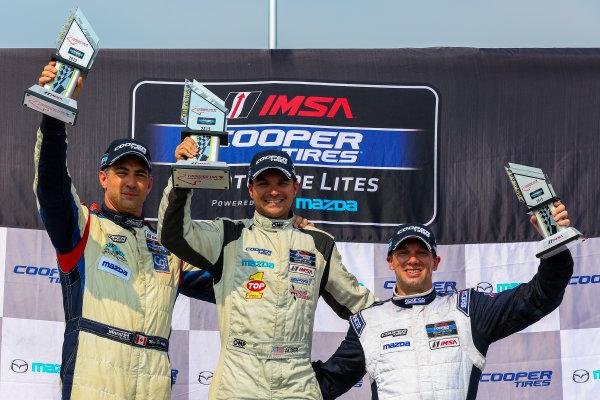 10-12 July 2015, Bowmanville, Ontario Canada Race 2, Cooper Tire Prototype Lites, L2 Podium ?2015, Jake Galstad LAT Photo USA