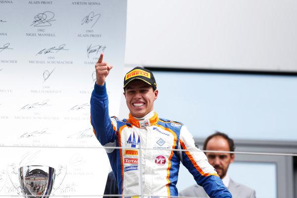 2015 GP3 Series Round 2. Red Bull Ring, Spielberg, Austria. Sunday 21 June 2015. Oscar Tunjo (COL, Trident)  Photo:  Alastair Staley/GP3 Media Service ref: Digital Image _R6T4922