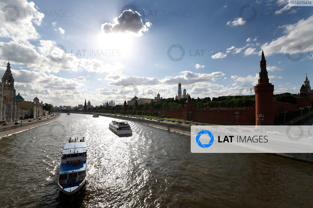 2014/2015 FIA Formula E Championship.  The Kremlin Moscow e-Prix, Moscow, Russia. Thursday 4 June 2015.  Photo: Sam Bloxham/LAT/Formula E ref: Digital Image _SBL4117