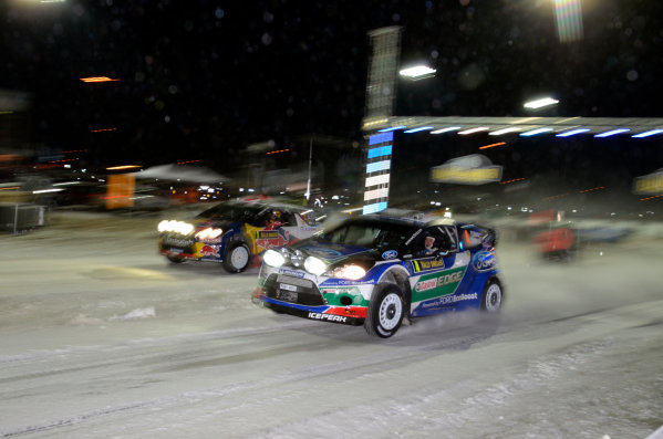 Round 02 - Rally Sweden 09-12 February 2012. Petter Solberg, Ford WRC, Action  Worldwide Copyright: McKlein/LAT