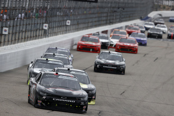 #47: Kyle Weatherman, Mike Harmon Racing, Chevrolet Camaro Axe Crossbows
