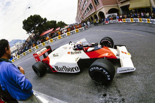 Alain Prost, McLaren MP4-2B TAG.