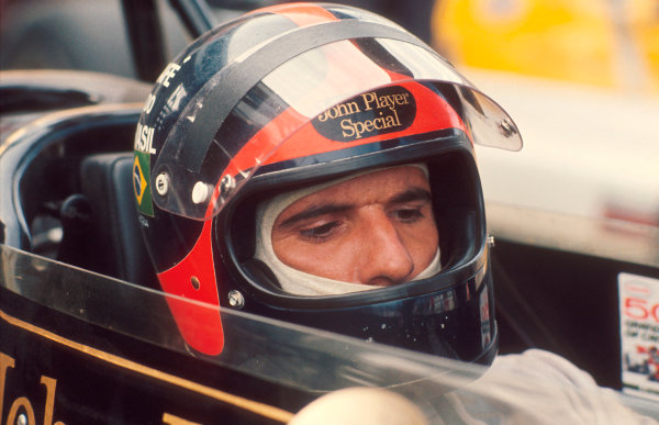1972 Canadian Grand Prix.Mosport Park, Ontario, Canada.22-24 September 1972.Emerson Fittipaldi (Team Lotus).Ref-72 CAN 10.World Copyright - LAT Photographic
