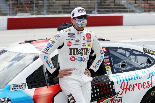 Kyle Busch, Joe Gibbs Racing Toyota M&M's Copyright: Chris Graythen/Getty Images.