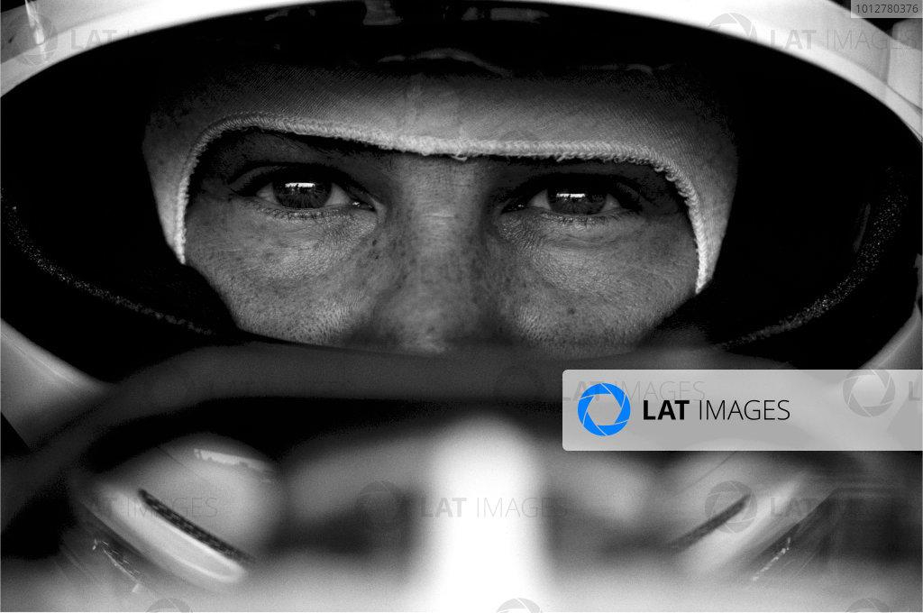 2003 Racing Past. . Exhibition2002 Italian Grand Prix, Monza. Jacques Villeneuve.World Copyright - LAT PhotographicExhibition ref: a081