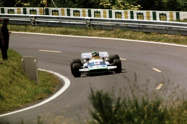 1970 French Grand Prix.Clermont-Ferrand, France.3-5 July 1970.Henri Pescarolo (Matra-Simca MS120) 5th position.Ref-70 FRA 36.World Copyright - LAT Photographic